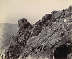 Jumping Rock [Bhairav-Japa in the Girnar Hills, Junagadh]